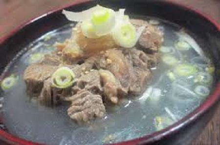 「大阪場所」と「ちゃんこ」と「テールスープ」